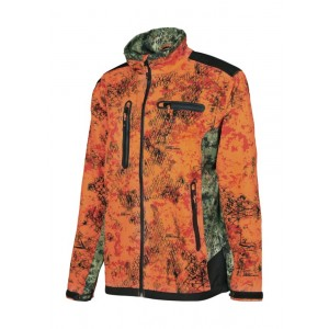 JACKET SOFTSHELL SNAKE GHOST CAMO BLAZE PHP0004